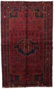 Lori Rug 137X235 Authentic  Oriental Handknotted Dark Red (Wool, Persia/Iran)