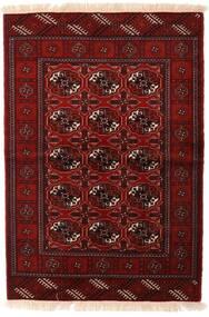 Turkaman Rug 110X160 Authentic Oriental Handknotted Dark Red/Dark Brown (Wool, Persia/Iran)