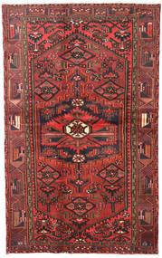 Hamadan Rug 120X193 Authentic Oriental Handknotted Dark Red/Dark Brown (Wool, Persia/Iran)