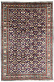Keshan Rug 198X292 Authentic  Oriental Handknotted Dark Grey/Light Grey (Wool, Persia/Iran)