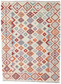Kilim Afghan Old Style Rug 174X235 Authentic  Oriental Handwoven Light Grey/Beige (Wool, Afghanistan)
