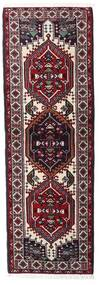 Ardebil Rug 66X194 Authentic  Oriental Handknotted Hallway Runner  Dark Red/White/Creme (Wool, Persia/Iran)