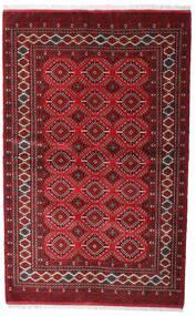 Turkaman Rug 137X218 Authentic  Oriental Handknotted Dark Red/Crimson Red (Wool, Persia/Iran)