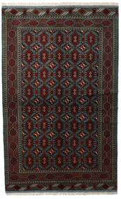 Turkaman Rug 138X222 Authentic  Oriental Handknotted Dark Brown/Dark Green (Wool, Persia/Iran)