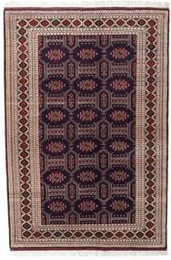 Turkaman Rug 134X197 Authentic Oriental Handknotted Dark Red/Dark Brown (Wool, Persia/Iran)