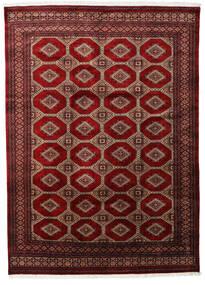 Pakistan Bokhara 3Ply Rug 201X279 Authentic  Oriental Handknotted Dark Red/Dark Brown (Wool, Pakistan)