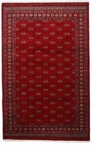 Pakistan Bokhara 3Ply Rug 201X315 Authentic  Oriental Handknotted Crimson Red/Dark Red (Wool, Pakistan)