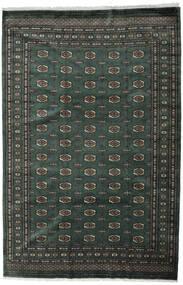 Pakistan Bokhara 3Ply Rug 202X306 Authentic  Oriental Handknotted Dark Grey/Dark Green (Wool, Pakistan)