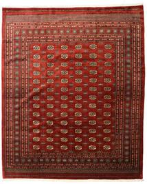 Pakistan Bokhara 3Ply Rug 253X305 Authentic  Oriental Handknotted Dark Red/Dark Brown Large (Wool, Pakistan)