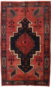 Lori Rug 147X248 Authentic  Oriental Handknotted Dark Red/Black/Rust Red (Wool, Persia/Iran)