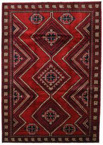 Lori Rug 219X308 Authentic Oriental Handknotted Dark Brown/Crimson Red (Wool, Persia/Iran)