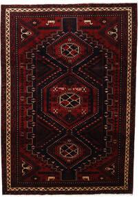 Lori Rug 219X307 Authentic Oriental Handknotted Dark Red (Wool, Persia/Iran)