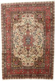 Tabriz Rug 207X298 Authentic  Oriental Handknotted Dark Brown/Light Brown (Wool, Persia/Iran)