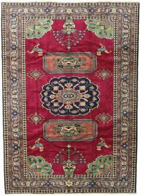 Ardebil Rug 200X281 Authentic  Oriental Handknotted Dark Red/Black (Wool, Persia/Iran)