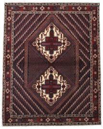 Afshar Shahre Babak Rug 133X170 Authentic  Oriental Handknotted Dark Red/Dark Brown (Wool, Persia/Iran)