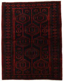 Lori Rug 171X218 Authentic Oriental Handknotted Dark Red/Crimson Red (Wool, Persia/Iran)