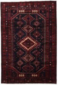 Lori Rug 170X244 Authentic Oriental Handknotted Dark Red (Wool, Persia/Iran)
