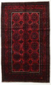 Lori Rug 155X250 Authentic  Oriental Handknotted Dark Brown/Dark Red (Wool, Persia/Iran)
