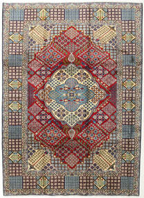 Najafabad Rug 254X345 Authentic  Oriental Handknotted Dark Red/Dark Grey Large (Wool, Persia/Iran)