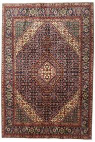 Tabriz Rug 200X291 Authentic  Oriental Handknotted Dark Red/Dark Brown (Wool, Persia/Iran)