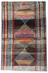 Moroccan Berber - Afghanistan Rug 113X174 Authentic Modern Handknotted Dark Grey/Light Grey (Wool, Afghanistan)