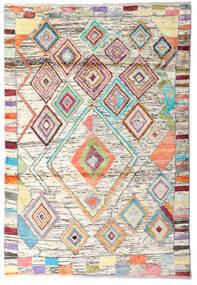 Moroccan Berber - Afghanistan Rug 119X176 Authentic  Modern Handknotted Beige/Dark Beige (Wool, Afghanistan)