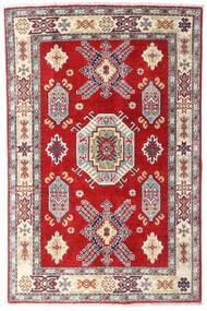Kazak Rug 98X150 Authentic  Oriental Handknotted Beige/Rust Red (Wool, Afghanistan)