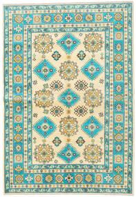 Kazak Rug 172X248 Authentic  Oriental Handknotted Beige/Dark Beige (Wool, Afghanistan)
