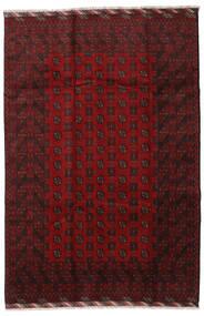 Afghan Rug 201X298 Authentic  Oriental Handknotted Dark Red (Wool, Afghanistan)