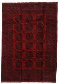 Afghan Rug 203X286 Authentic Oriental Handknotted Dark Brown/Dark Red (Wool, Afghanistan)