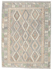 Kilim Afghan Old Style Rug 177X236 Authentic  Oriental Handwoven Light Grey/Beige (Wool, Afghanistan)