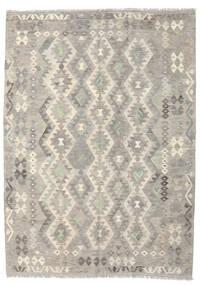 Kilim Afghan Old Style Rug 167X232 Authentic  Oriental Handwoven Light Grey/Dark Beige (Wool, Afghanistan)