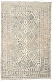 Kilim Afghan Old Style Rug 165X246 Authentic  Oriental Handwoven Light Grey/Dark Beige (Wool, Afghanistan)