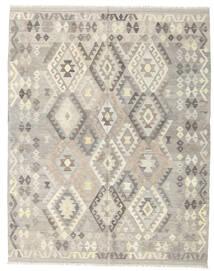 Kilim Afghan Old Style Rug 185X235 Authentic  Oriental Handwoven Light Grey/Beige (Wool, Afghanistan)