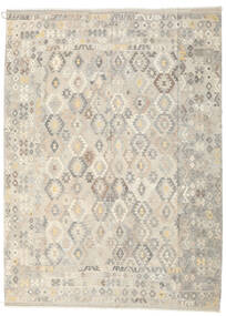 Kilim Afghan Old Style Rug 248X344 Authentic  Oriental Handwoven Light Grey/Beige (Wool, Afghanistan)
