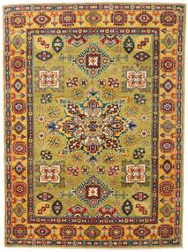 Kazak Rug 150X203 Authentic  Oriental Handknotted Olive Green/Beige (Wool, Afghanistan)