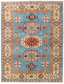 Kazak Rug 151X196 Authentic Oriental Handknotted Dark Beige/Dark Brown (Wool, Afghanistan)
