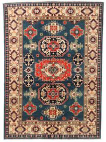 Kazak Rug 146X203 Authentic  Oriental Handknotted Dark Blue/Dark Grey (Wool, Afghanistan)