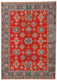 Kazak Rug 169X238 Authentic  Oriental Handknotted Rust Red/Light Brown (Wool, Afghanistan)