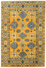 Kazak Rug 199X296 Authentic  Oriental Handknotted Orange/Dark Grey (Wool, Afghanistan)
