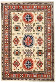 Kazak Rug 202X298 Authentic  Oriental Handknotted Dark Grey/Beige (Wool, Afghanistan)