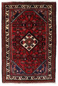 Turkaman Rug 66X83 Authentic Oriental Handknotted Dark Brown/Dark Red (Wool, Persia/Iran)