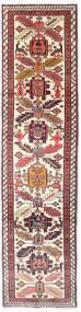 Ardebil Rug 75X292 Authentic Oriental Handknotted Hallway Runner Beige/Dark Red (Wool, Persia/Iran)