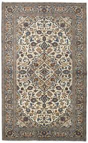Keshan Rug 147X241 Authentic  Oriental Handknotted Dark Grey/Light Grey (Wool, Persia/Iran)