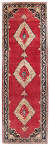 Koliai Rug 161X500 Authentic  Oriental Handknotted Hallway Runner  Crimson Red/Dark Purple (Wool, Persia/Iran)