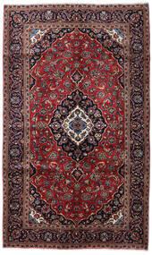 Keshan Rug 148X246 Authentic  Oriental Handknotted Dark Red/Dark Brown (Wool, Persia/Iran)