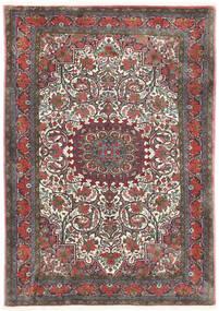 Bidjar Takab/Bukan Rug 113X153 Authentic Oriental Handknotted Dark Grey/Dark Red (Wool, Persia/Iran)