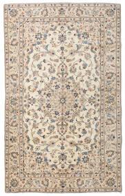 Keshan Rug 145X237 Authentic  Oriental Handknotted Light Grey/Beige (Wool, Persia/Iran)