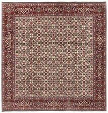 Bidjar Rug 200X203 Authentic Oriental Handknotted Square Dark Brown/Dark Red (Wool, Persia/Iran)