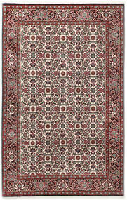 Bidjar Rug 110X173 Authentic Oriental Handknotted Dark Brown/Dark Red (Wool, Persia/Iran)